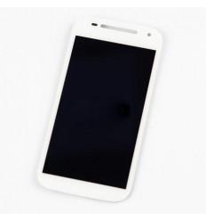 Motorola Moto E 2015 XT1524 pantalla lcd + táctil blanco ori