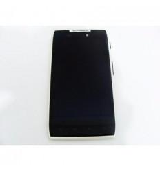 Motorola RAZR XT910 pantalla Lcd + Táctil negro + marco blan