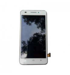 Huawei Ascend G620s original display lcd with white touch sc