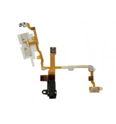 Iphone 3G/3GS headphone audio jack flex cable black