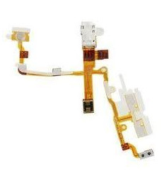 iPhone 3G/3GS cable flex conector auriculares blanco