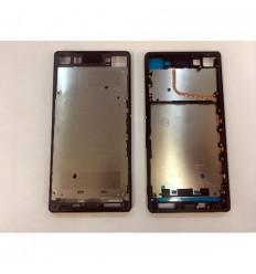 Sony xperia Z4 Z3 plus Z3+ e6553 carcasa frontal negro origi