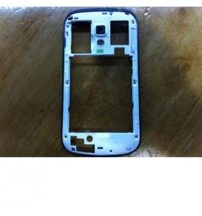 Samsung S7580 Galaxy Trend Plus Carcasa Trasera Blanco Origi