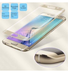 Samsung Galaxy S6 edge G925F gold curved tempered glass
