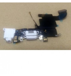 iPhone 6S flex conector de carga y jack audio blanco origina