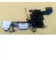iPhone 6S flex conector de carga y jack audio gris original