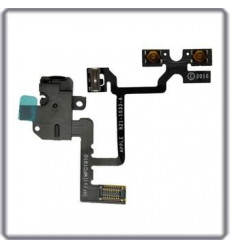 iPhone 4 original headphone audio jack flex cable black