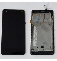 Elephone P3000S pantalla lcd + táctil negro + marco original