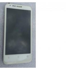 Asus Padfone II 2 A68 pantalla lcd + táctil blanco + marco o