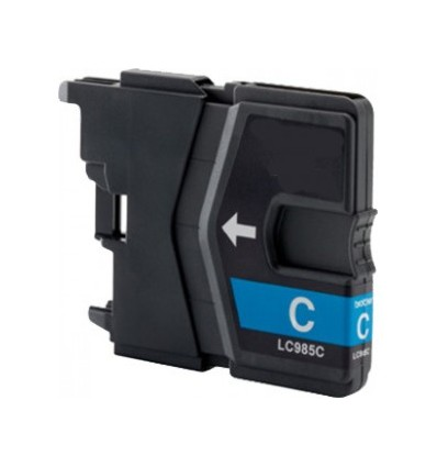 Brother recicled cartridge LC985 cyan