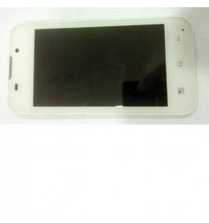 Bq Aquaris 4 pantalla lcd + táctil blanco + marco original o