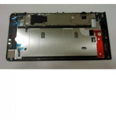 Huawei Ascend G6 Orange Gova carcasa frontal negro original