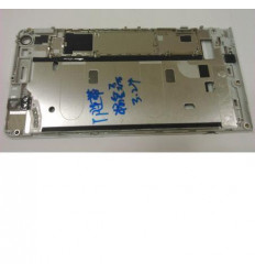 Huawei Ascend G6 Orange Gova carcasa frontal blanco original