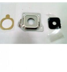 Samsung Galaxy A3 A300F cubierta lente camara blanco origina