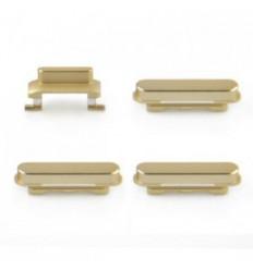 iPhone 6s set 4 piezas botones dorado original