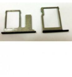 Htc one E8 set 2 piezas soporte sim y memoria negro