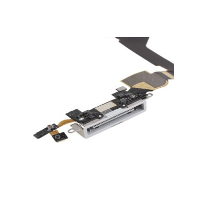 Iphone 4gs original dock connector flex cable white