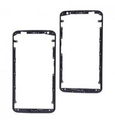 Motorola Nexus 6 carcasa frontal negro original