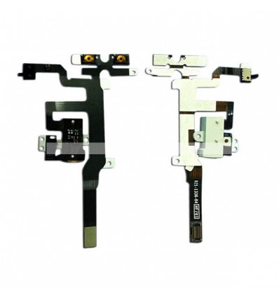 Iphone 4s original flex headphone audio jack cable white