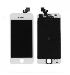 iPhone 5 compatible display lcd with white touch screen