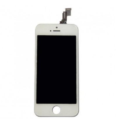 iPhone 5S pantalla lcd + táctil blanco compatible