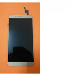 Elephone P8000 pantalla lcd + táctil dorado original
