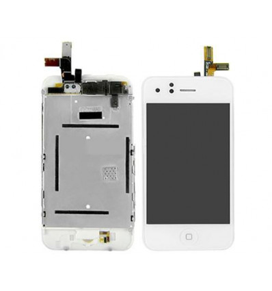 Iphone 3g white lcd full assembly