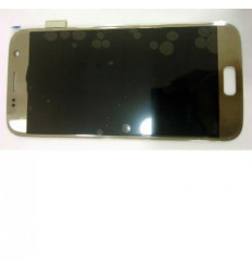 Samsung Galaxy S7 SM-G930F original display lcd with gold to