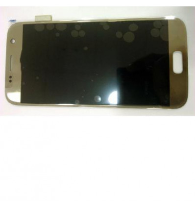 Samsung Galaxy S7 SM-G930F pantalla lcd + táctil dorado orig