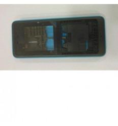 Nokia 107 carcasa completa azul