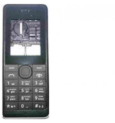 Nokia 106 carcasa completa negro