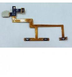 Zte T50 Blade VEC 4G Orange rono flex volumen + sensor origi