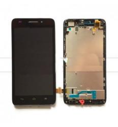Huawei Ascend G620s pantalla lcd + táctil negro + marco orig