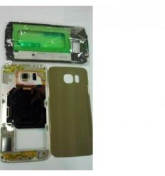 Samsung Galaxy S6 G9200 G920F carcasa completa dorado