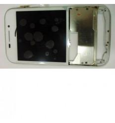 Blackberry Q20 pantalla lcd + táctil blanco + marco original