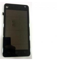 Huawei Ascend G600 U8950D pantalla lcd + táctil negro + marc