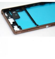 Sony xperia z3 d6603 D6643 D6653 marco lateral dorado origin