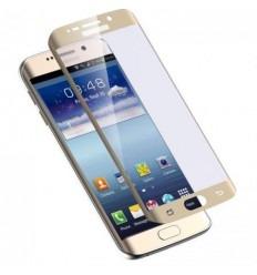 Samsung Galaxy S7 Edge SM-G935F cristal templado curvo dorad