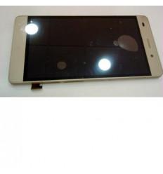 Huawei Ascend P8 Lite pantalla lcd + táctil dorado + marco o