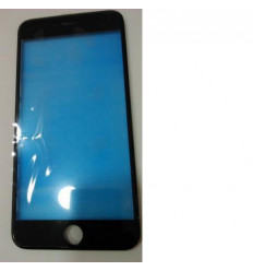 iPhone 6 plus cristal táctil negro + marco frontal