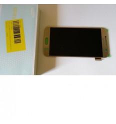 Samsung Galaxy S6 G920F pantalla lcd + táctil dorado origina