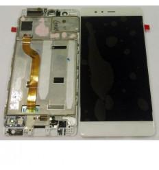 Huawei Ascend P9 pantalla lcd + táctil blanco + marco origin