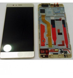 Huawei Ascend P9 original display lcd with gold touch screen
