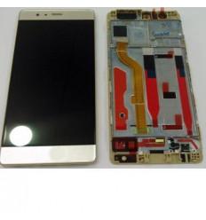 Huawei Ascend P9 pantalla lcd + táctil dorado + marco origin