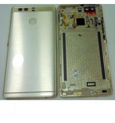 Huawei Ascend P9 carcasa central + tapa de batería dorado