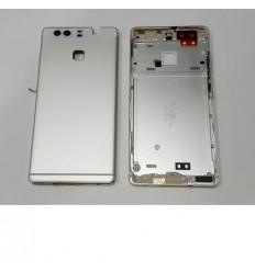 Huawei Ascend P9 carcasa central + tapa de batería blanco