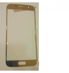 Samsung Galaxy S7 SM-G930F cristal táctil dorado