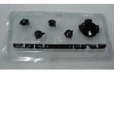 Psp 3000 set botones negro