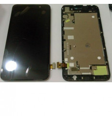 Huawei Y6 pantalla lcd + táctil negro + marco original