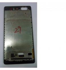 Huawei Ascend P9 Plus marco frontal negro original